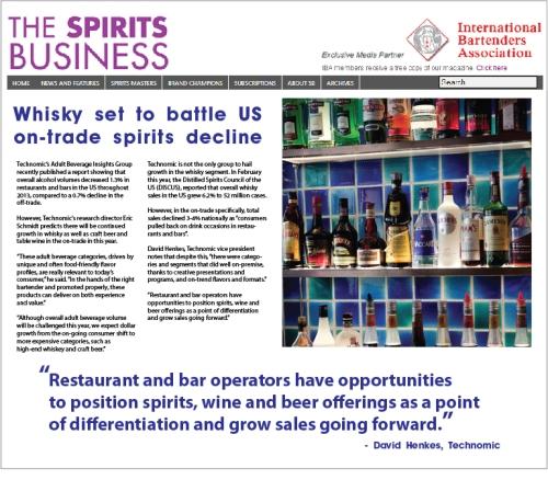 Whiskey Sales