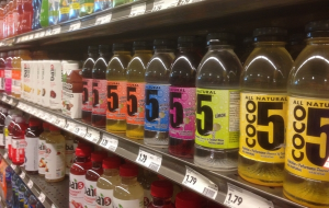 Coco5 has a lot of competition in the coconut and flavored water category.